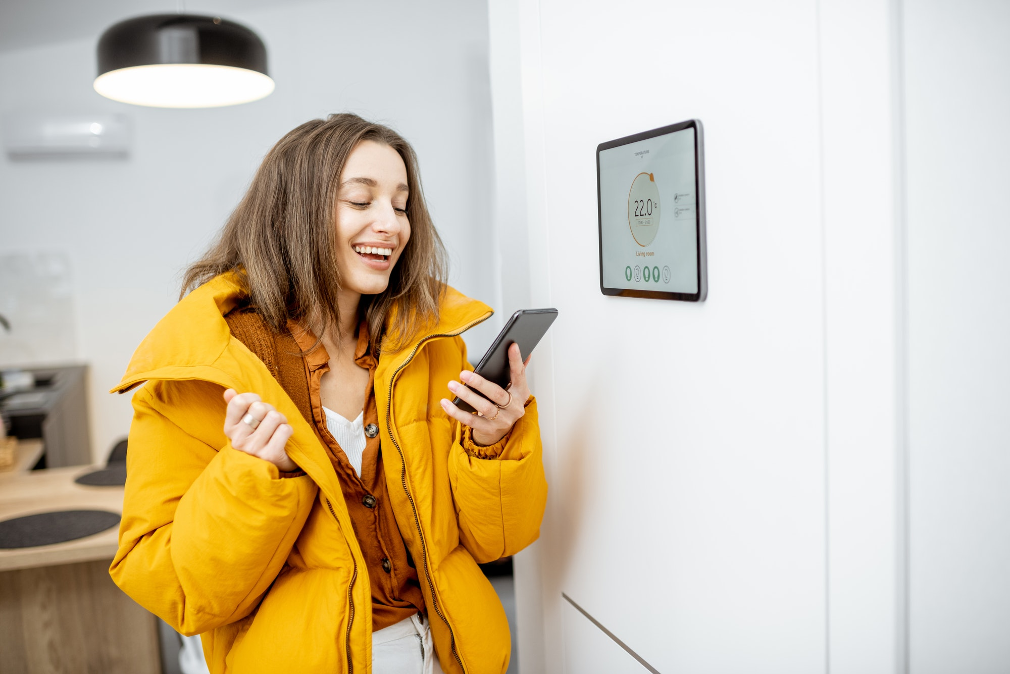 Smart home heating control concept